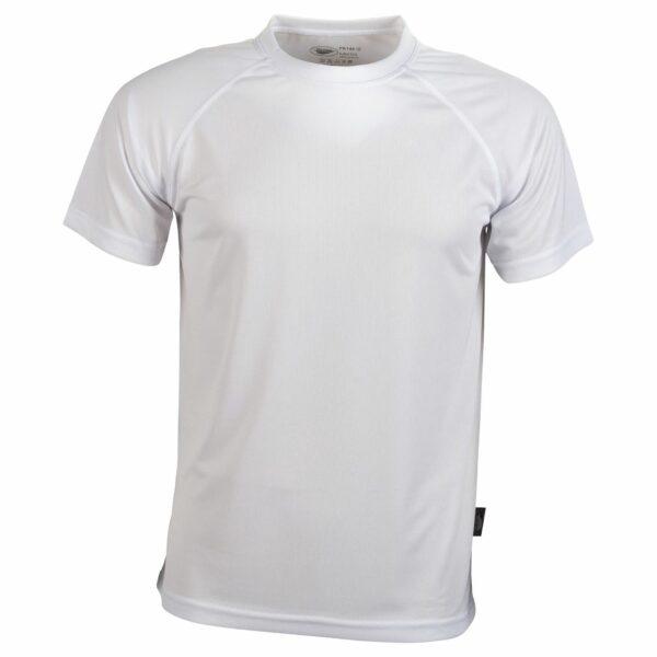 Tee shirt sport blanc