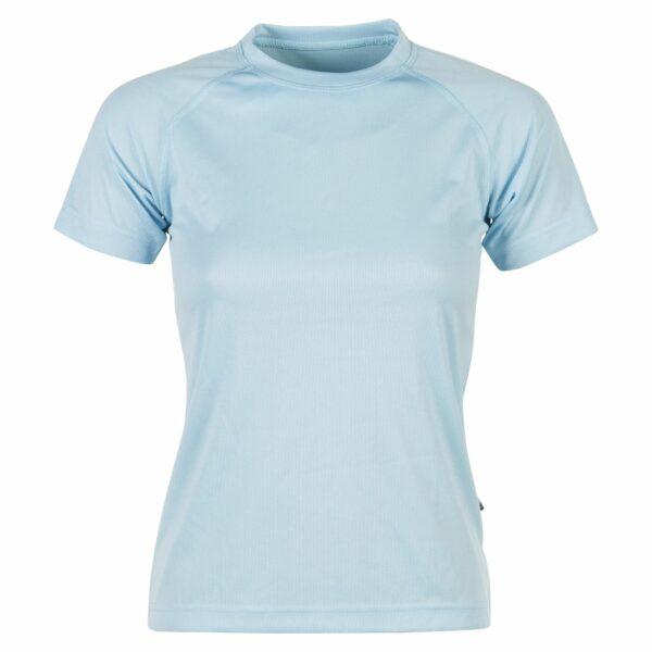 firstee-women-tee-shirt-respirant-femme bleu ciel
