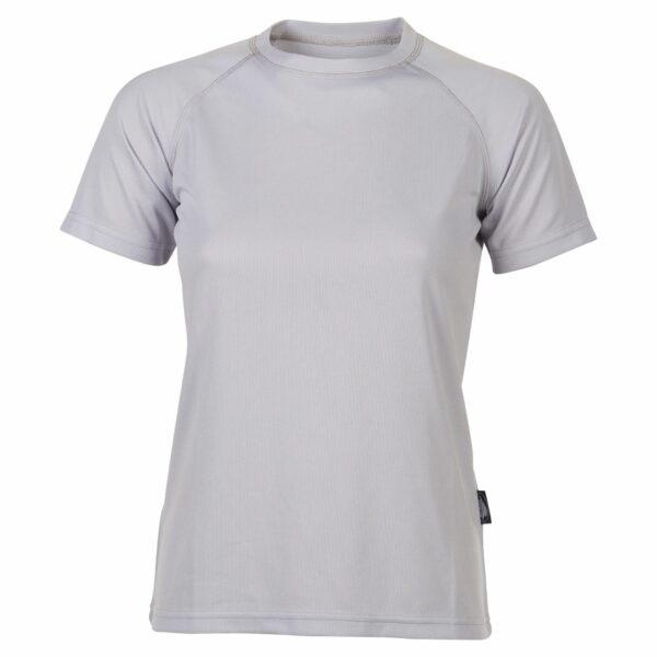 firstee-women-tee-shirt-respirant-femme gris clair