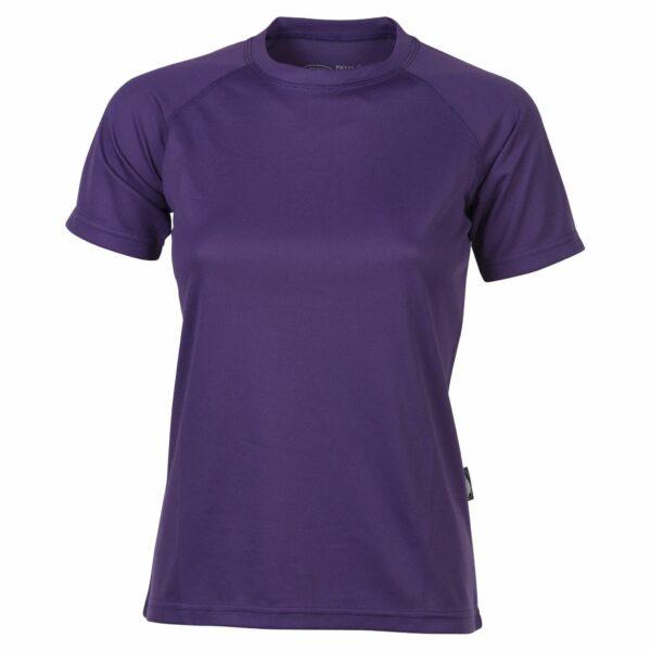 firstee-women-tee-shirt-respirant-femme violet