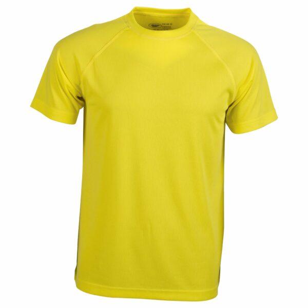 Tee shirt sport jaune