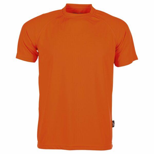 Tee shirt sport orange