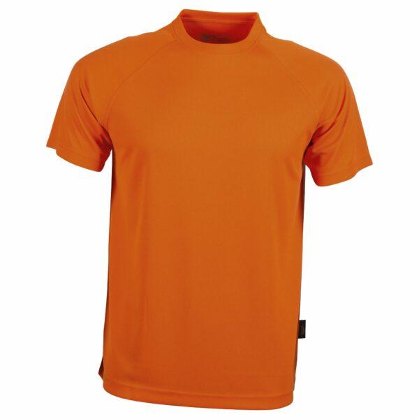 Tee shirt sport orange fluo