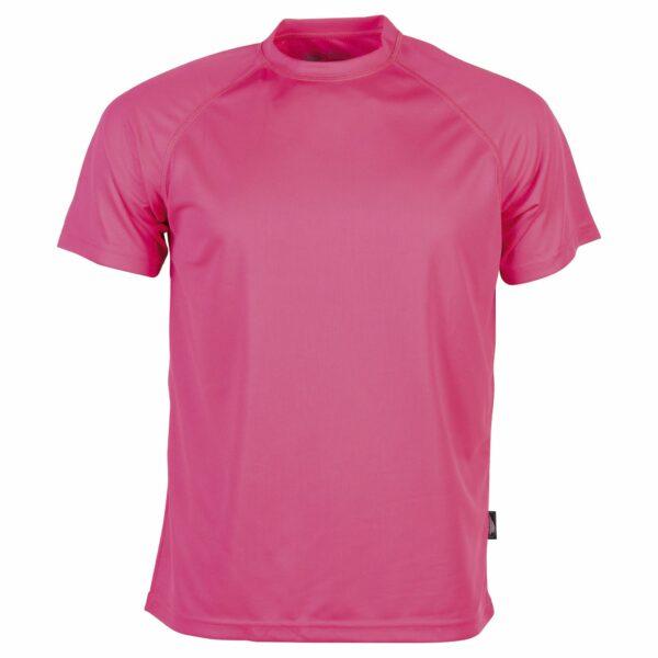 Tee shirt sport rose fluo