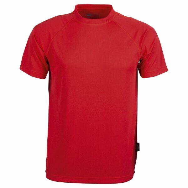 Tee shirt sport rouge vif