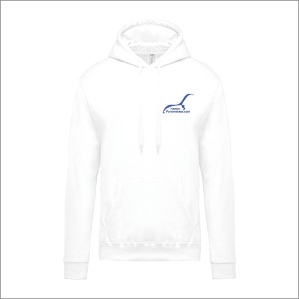 Nantes Paramoteur - Sweat shirt Blanc